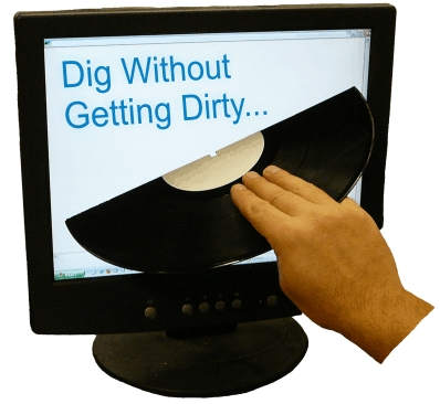 dig without getting dirty